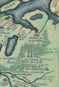 Duvelskut_op_de_kaart_van_Ortelius-1570-206x300